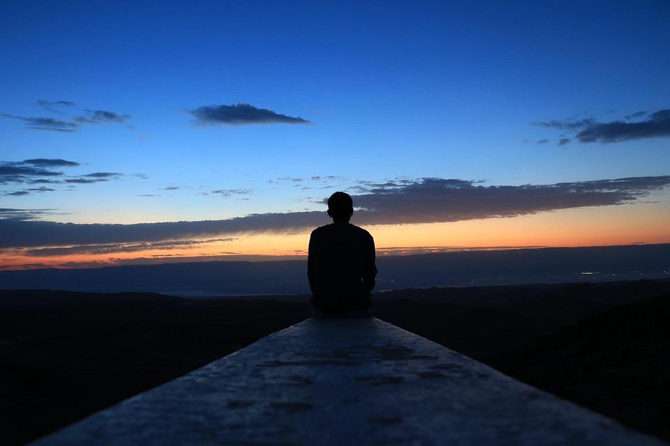 朝, 肯定的です, 空, 美しい, 青, オレンジ, ライフスタイル, モチベーション, 日, 生活, 幸せ