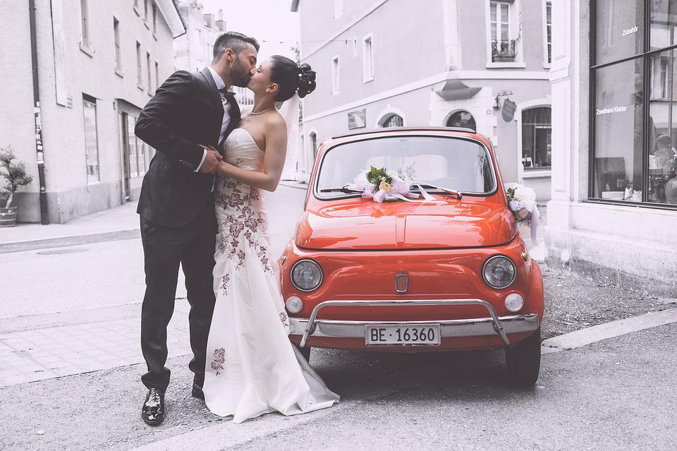 Boda, Par, Vestido De Boda, Italiano, Casarse, Amor