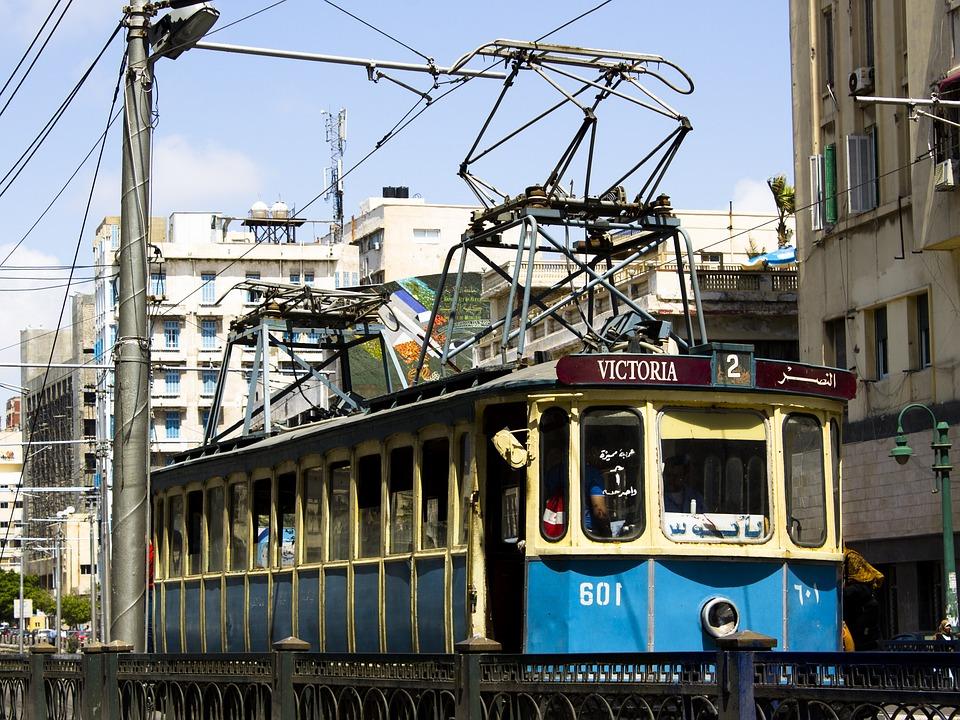 Vieux Tramway Alexandrie - Photo gratuite sur Pixabay