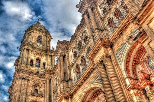 Qué ver qué hacer en Málaga, Fachada Catedral de la Encarnación Málaga