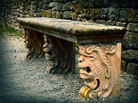 Amazing 100 Free Stone Bench Bench Images Pixabay Bralicious Painted Fabric Chair Ideas Braliciousco