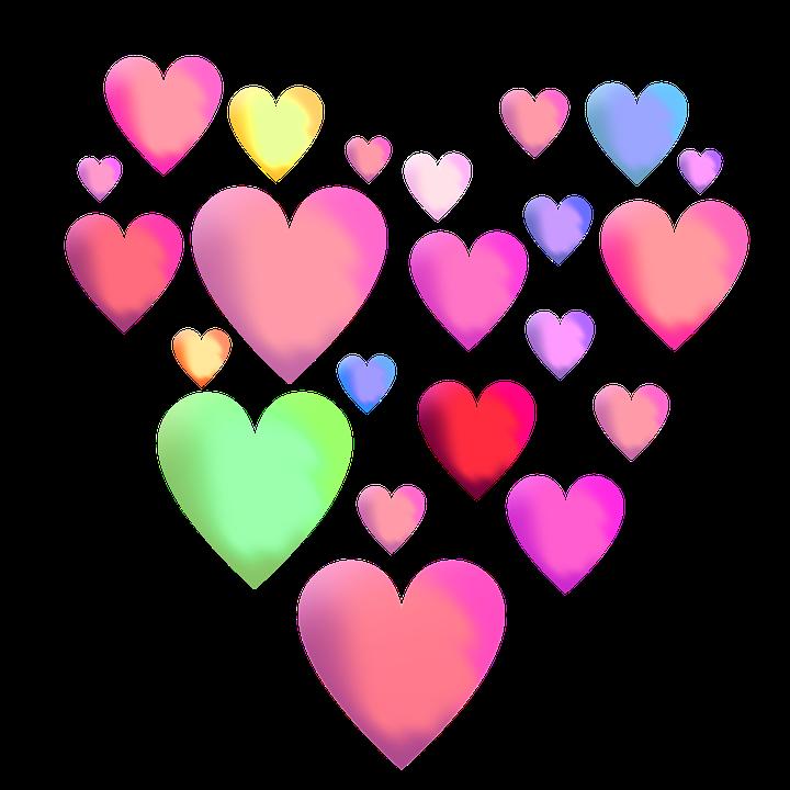 Free illustration: Background, Hart, Hearts Pattern - Free Image on Pixabay - 2268012