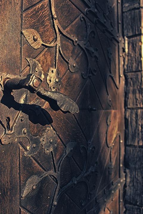 Door, Antique, Church, Old, Vintage, Design, Lock - Free Photo: Door, Antique, Church, Old, Vintage - Free Image On