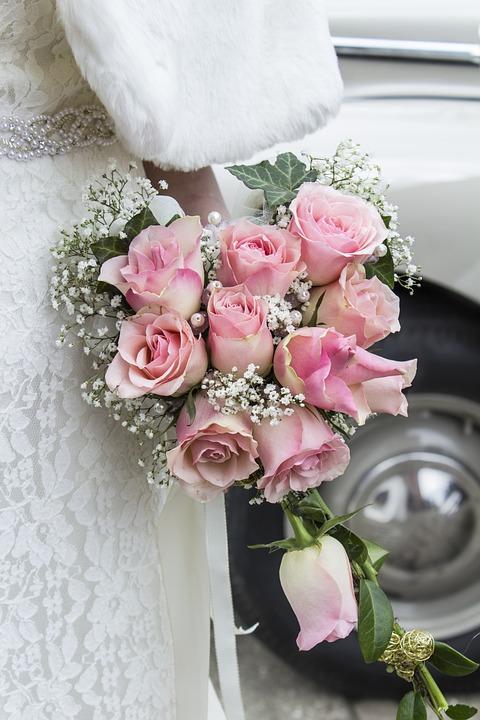 Brautstrauss Strauss Blumen Kostenloses Foto Auf Pixabay