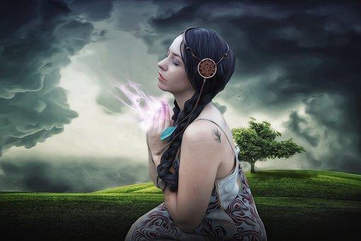 Γυναίκα, ΟμοÏφιά, Lady, Πνευματισμός