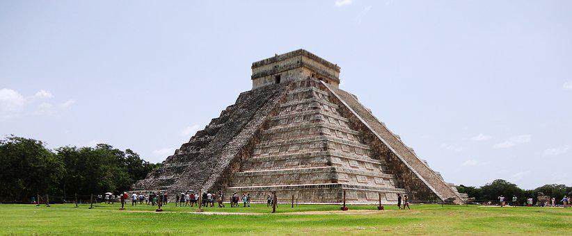 Cancn Pirmide Maya Templo Mexico