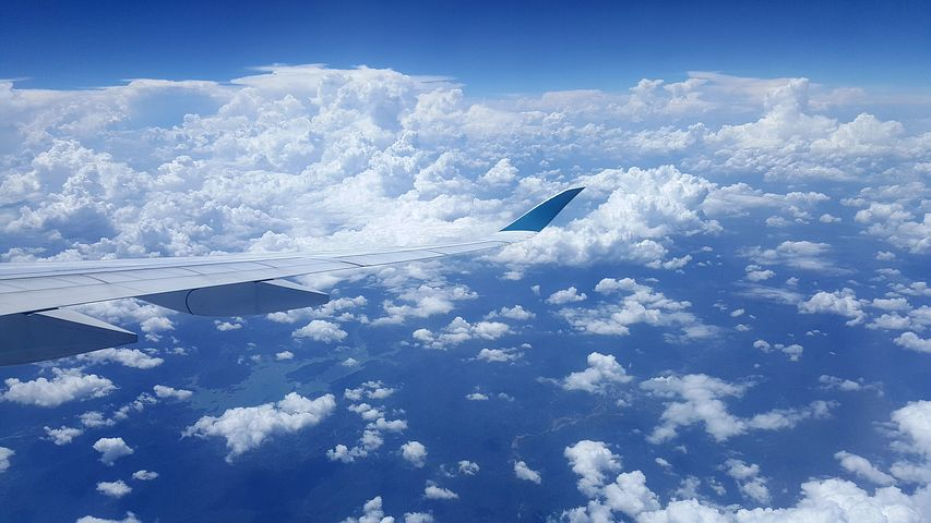Небо фото самолета