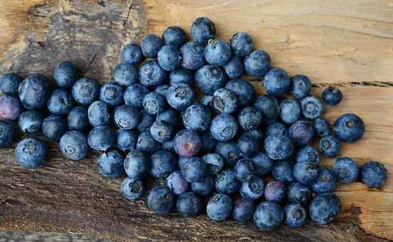 Blueberries, Berries, Fruit, Fruits