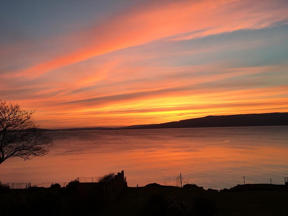 Sunset at Wemyss Bay