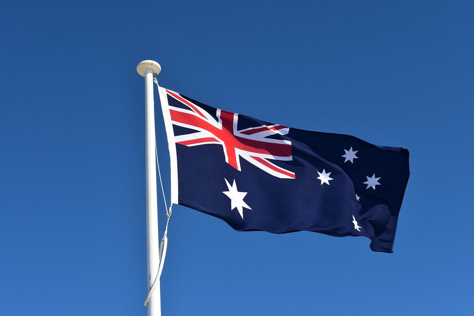 Australia Flag.  Discover women of personal finance on #IWD