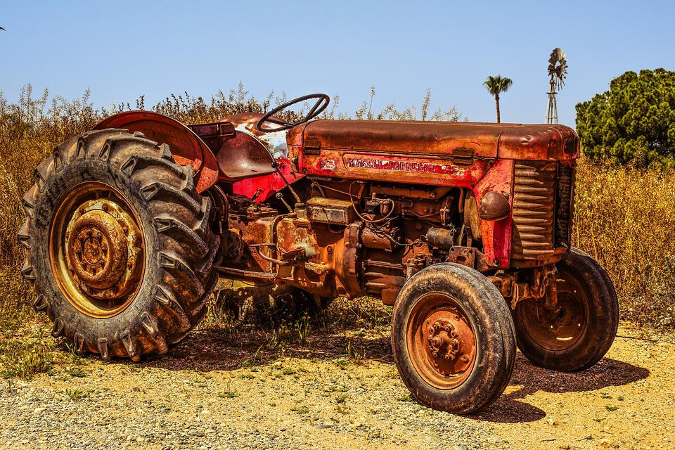 Tractor Farm Countryside  U00b7 Free Photo On Pixabay