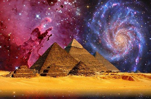Gizeh, Pyramiden, Cheops, Ägypten