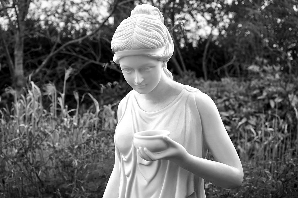 Estatua, Piedra, Blanco, Antiguos, La Paz, Escultura