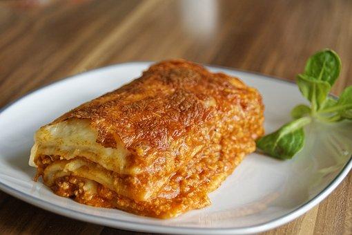 Lasagne, Pasta, Eten, Voedsel, Voeding