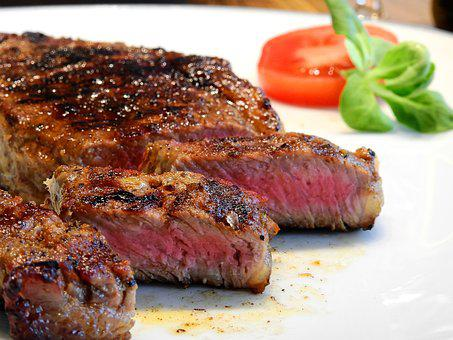 Steak, Meat, Beef, Eat, Food, Beef Steak