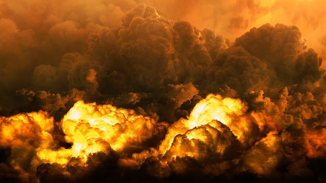 黙示録, 災害, 終了時刻, ハルマゲドン, 世界の終わり, 爆発, 破壊, 荒廃, 炎, 自然の力, 火
