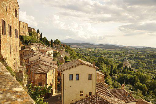 Italy, Tuscany, Holidays, Travel, Town