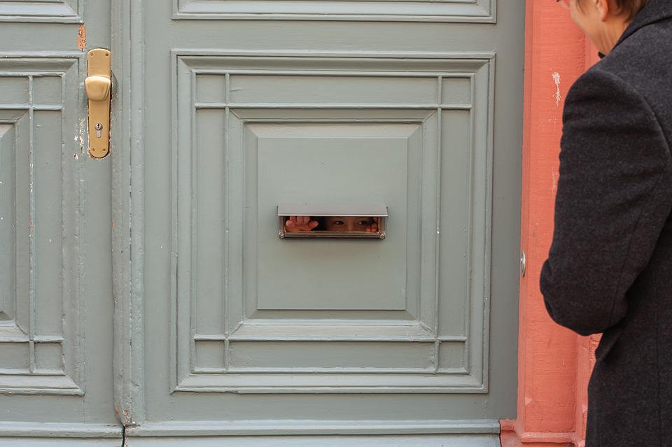 Front Door Letter Box Slot Free Photo On Pixabay