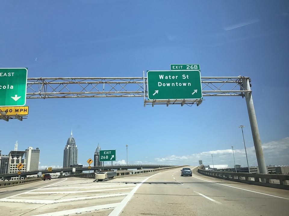 Downtown Mobile Alabama Interstate Free Photo On Pixabay
