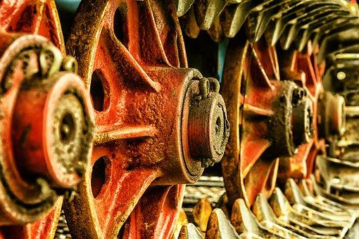 Fahrzeug, Rad, Kette, Antrieb, Metall