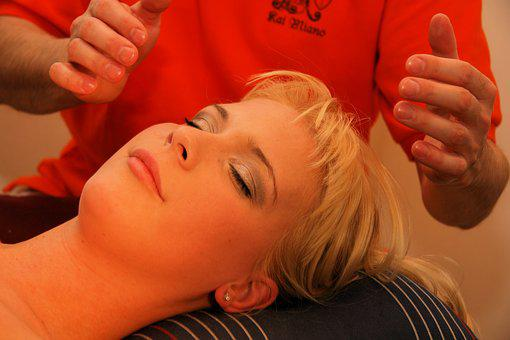 Healing, Shiatsu, Blond, Head, Massage