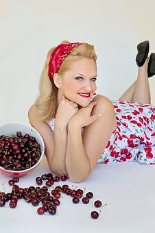 Cherries, Sweet Cherries, Pretty Woman