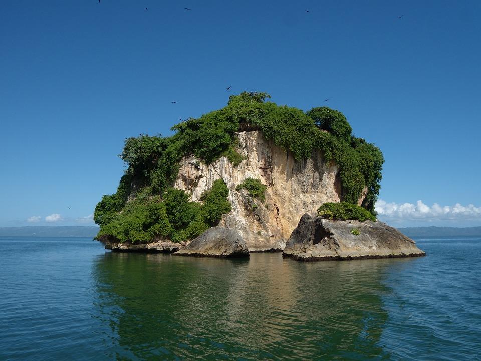 Dominikana, Krajobraz, Charakter, Wyspa