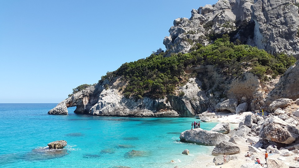Cala Goloritzè, Sardinia, Mediterranean, Turquoise, Sea