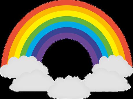 Rainbow, Colorful, Prism, Chromatic