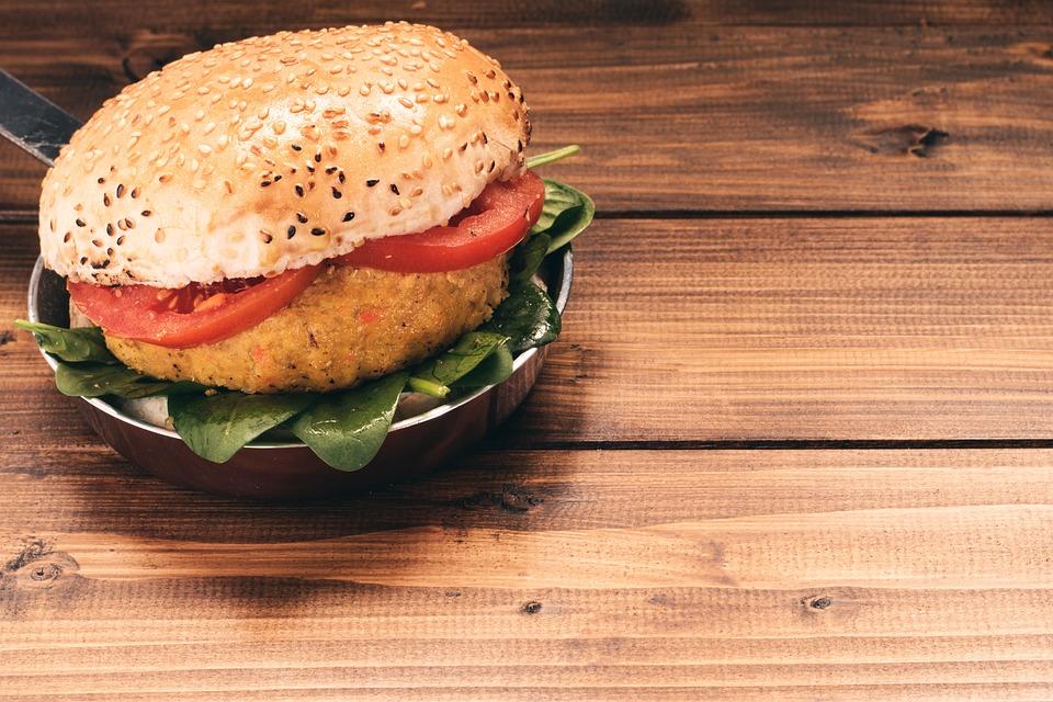Vegan Sweet Potato Burger Recipe with Dip