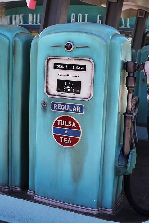 Vintage Gas Pump Fuel - Free photo on Pixabay
