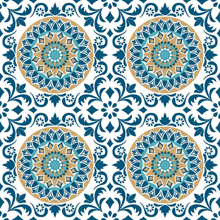 Tile Vintage Pattern Design Decorative Retro Wall