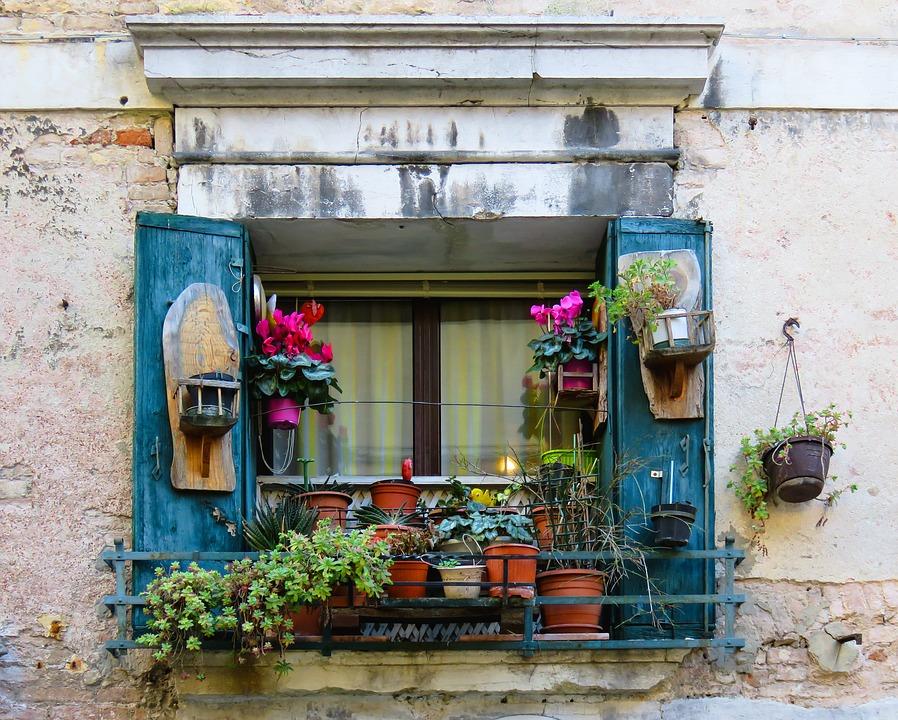 Architektur Fenster Blumen Kostenloses Foto Auf Pixabay