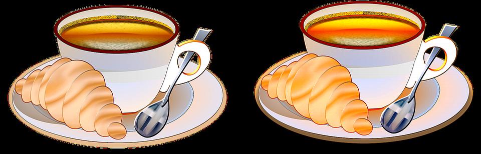 Bien connu Illustration gratuite: Le Petit Déjeuner, Café, Pause - Image  IE73