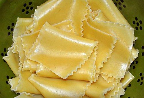 Lasagne, Noedels, Pasta, Voedsel