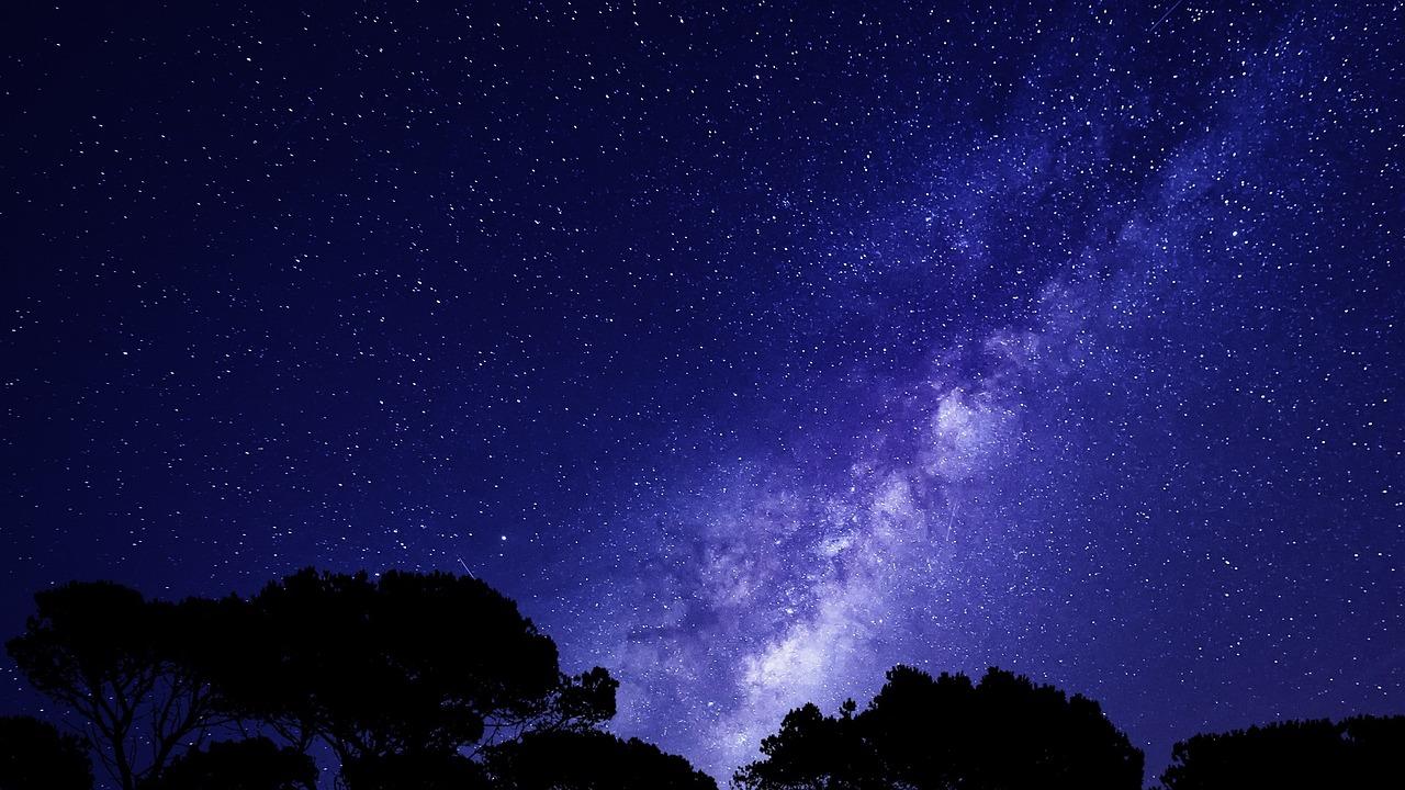 фон неба со звездами корне