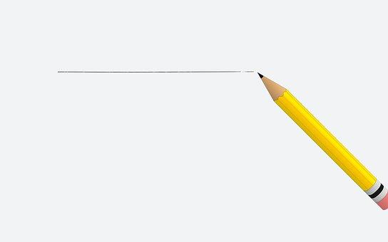 Crayon, Ligne, Papier, Arrière Plan