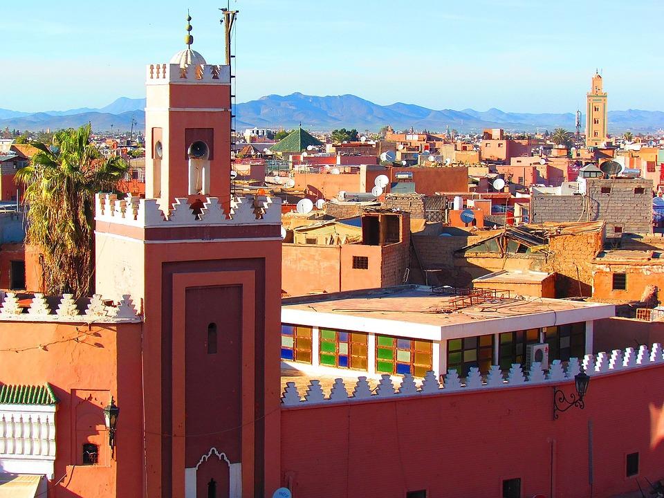 Marakesh, Menara Mesjid, Masjid, Monumen Keagamaan