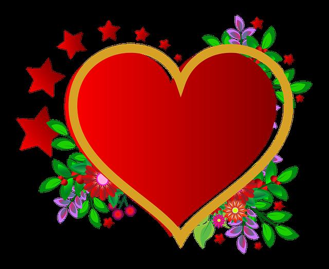 Love Frame Png Transparent Images 1293: กรอบรูป การเต้นของหัวใจ สีแดง · ภาพฟรีบน Pixabay