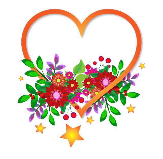 Heart Flowers Sign Transparent · Free Image On Pixabay