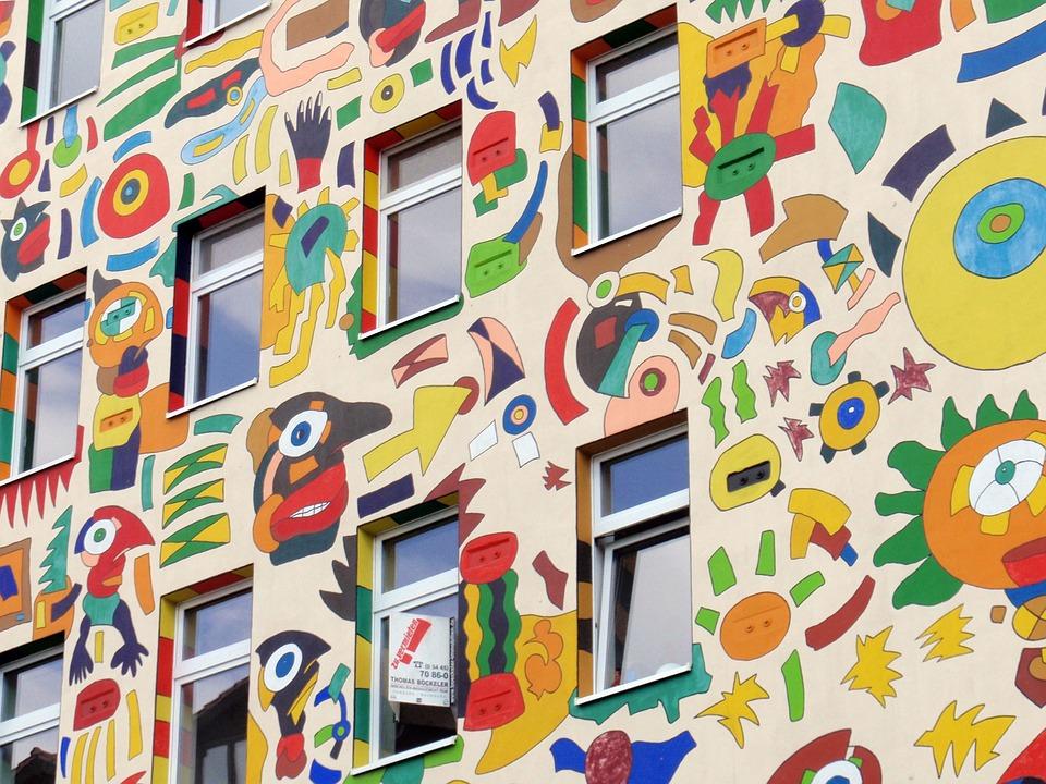 Картинка на фасадах