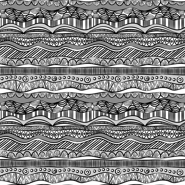Ethno Muster ethno nahtlose muster schwarz und · kostenlose vektorgrafik auf pixabay