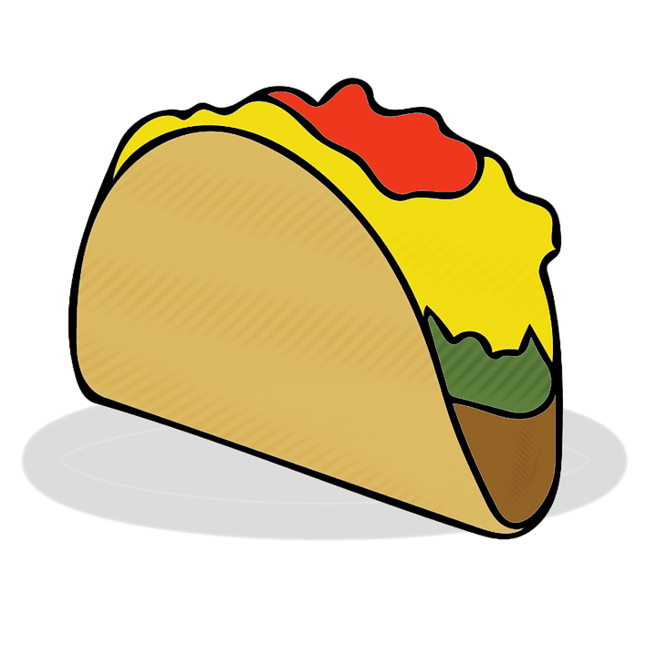taco tacos food fast free image on pixabay rh pixabay com tacos clipart black and white tacos clipart free