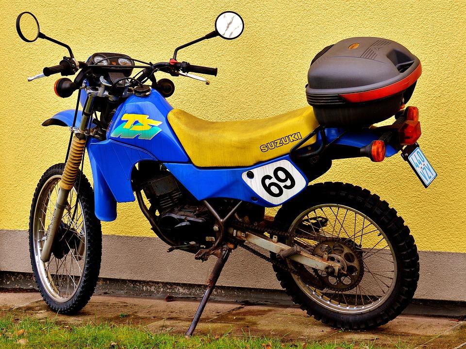 Moped Enduro Suzuki Ts50xk Motorrad Fahrzeug