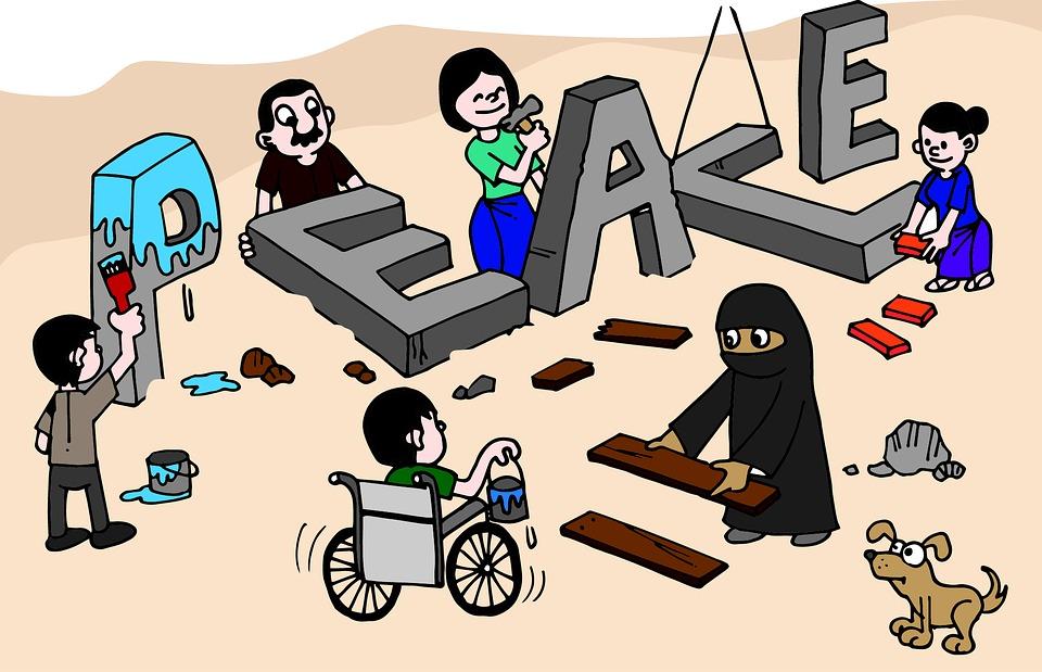 Peace, Peacebuild, Peacebuilding, Peaceful, Build, Work