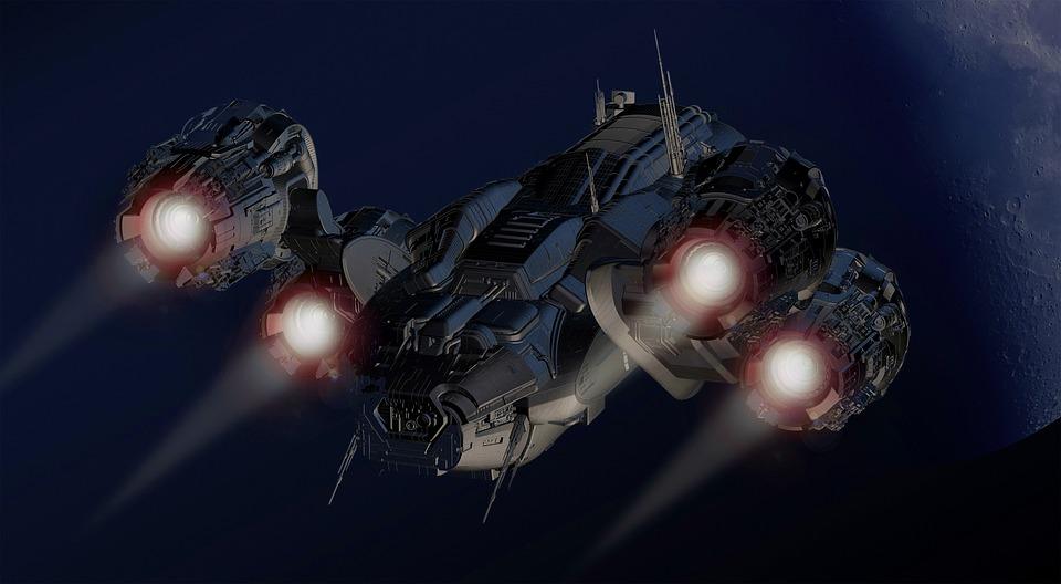 Ufo, Statek Kosmiczny, Samolot, Dysk, Dysze
