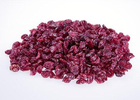 Cranberries Natural, Eat, Fruit, Red