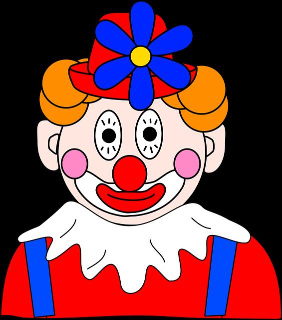 огромную картинка лицо клоуна секут бизнесмены