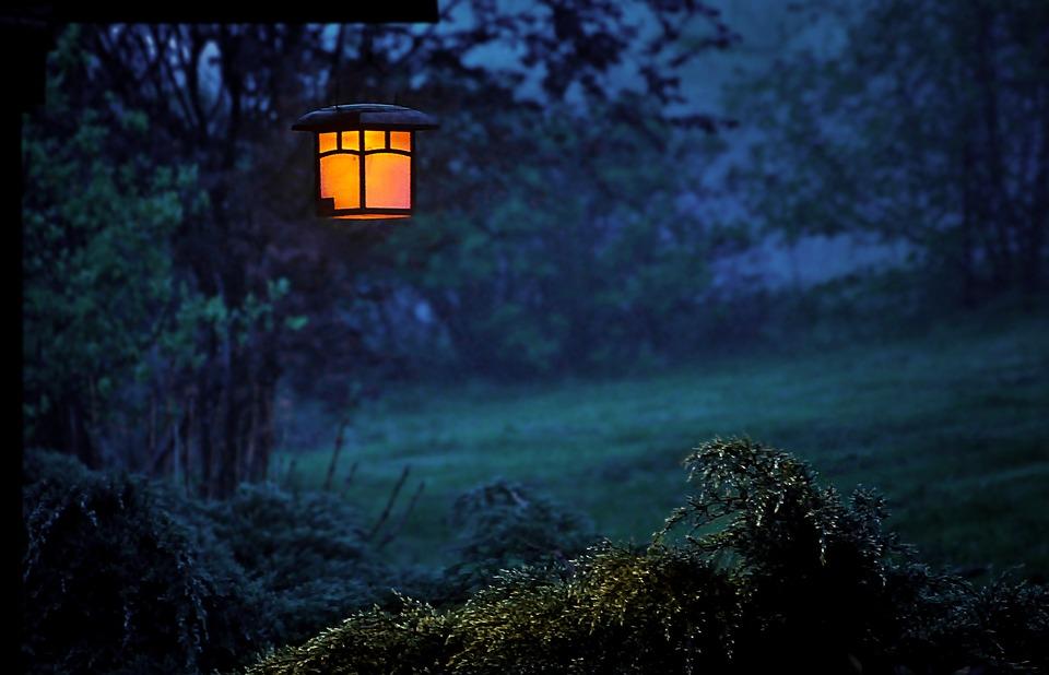 Dusk, Spare Lamp, Lantern, Evening
