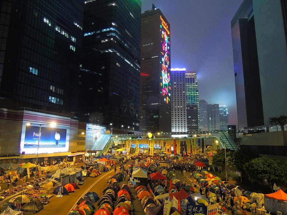 Hongkong, Asia, Time, Hong, Kong, City, Downtown